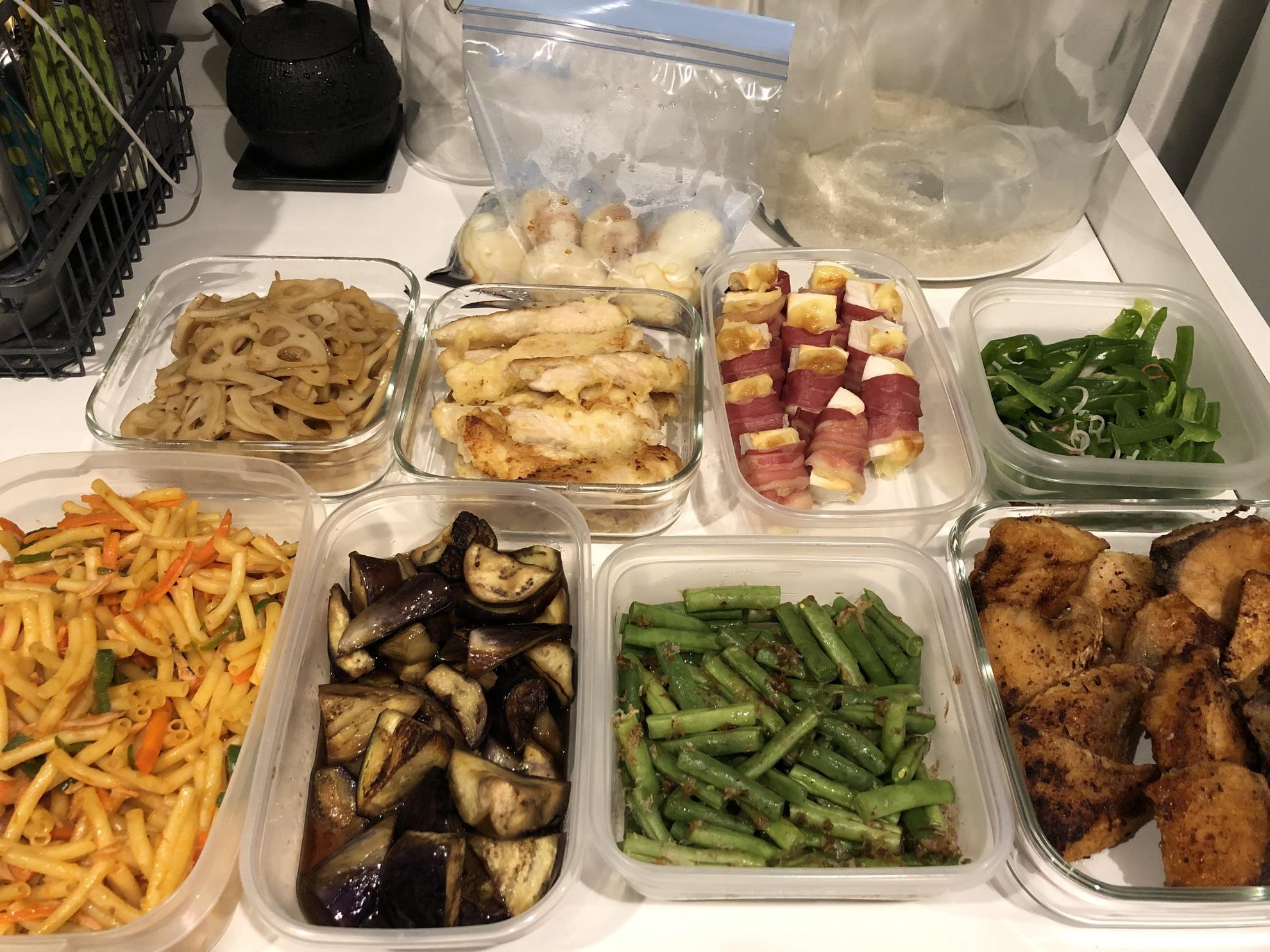 晩御飯にもお弁当にも!作り置きならお任せください。