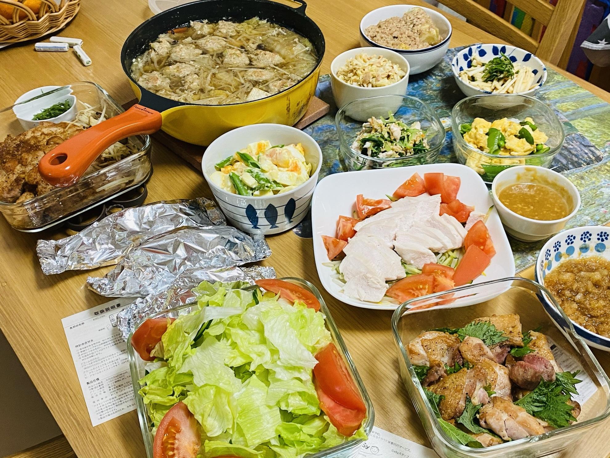 プロ並みのパーティ料理から料理家庭料理全般、対応します!